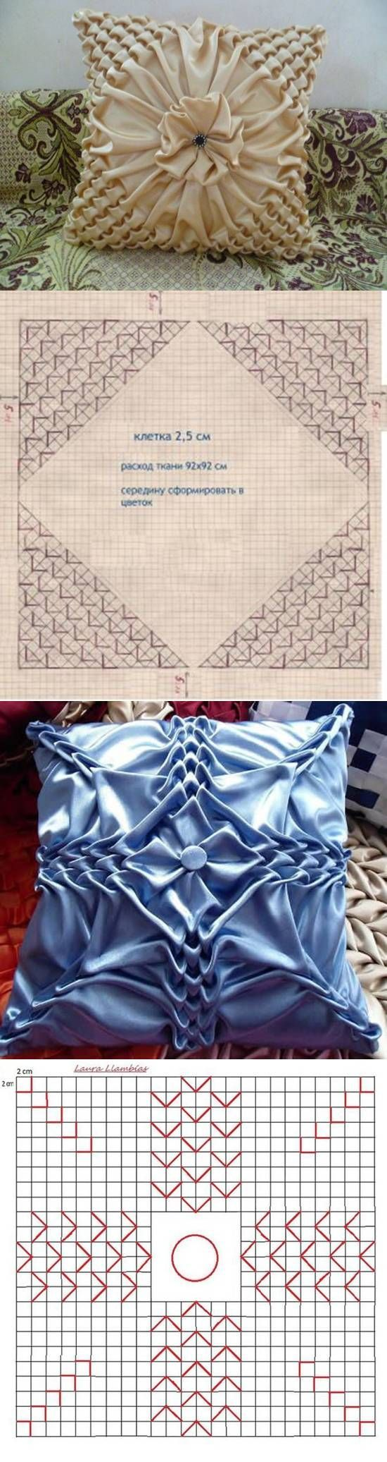 DIY Pillow Patterns Puffed Sleeves: