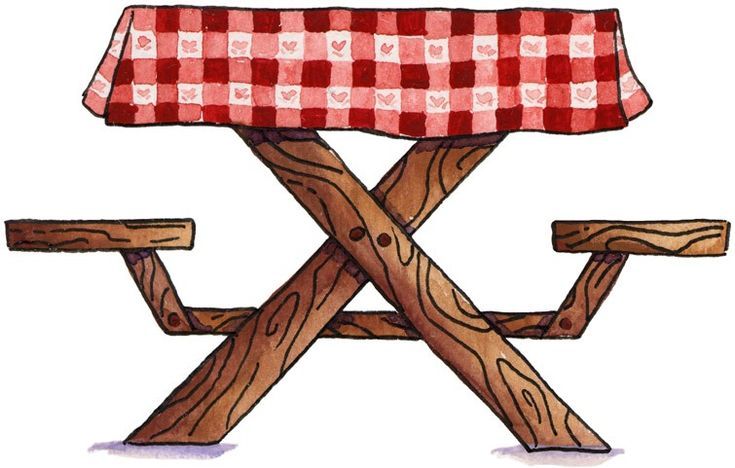 81 best images about picnic clipart on pinterest hot for Table no border