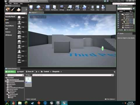 [Part 1]-Setting Up Our Character- How to make an advanced FPS game - Unreal Engine 4 - YouTube