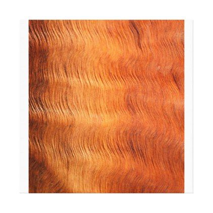 Golden Copper Hair Waves Canvas Print  $170.20  by SAM_SibleyArtMedia  - custom gift idea