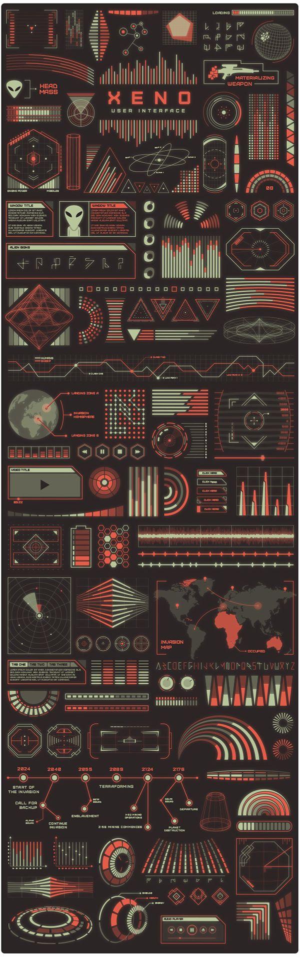Xeno UI Kit by Mehmet Reha Tugcu