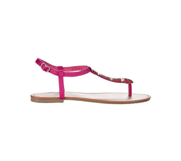 Sandály s korálky | blancheporte.cz #blancheporte #blancheporteCZ #blancheporte_cz #shoes #boty #sandals