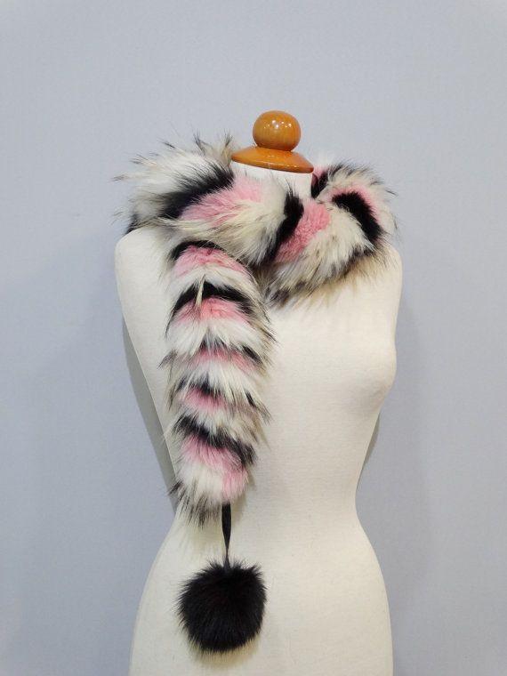 Fur scarvesReal fox fur scarfReal fur collarFox by FilimegasFurs