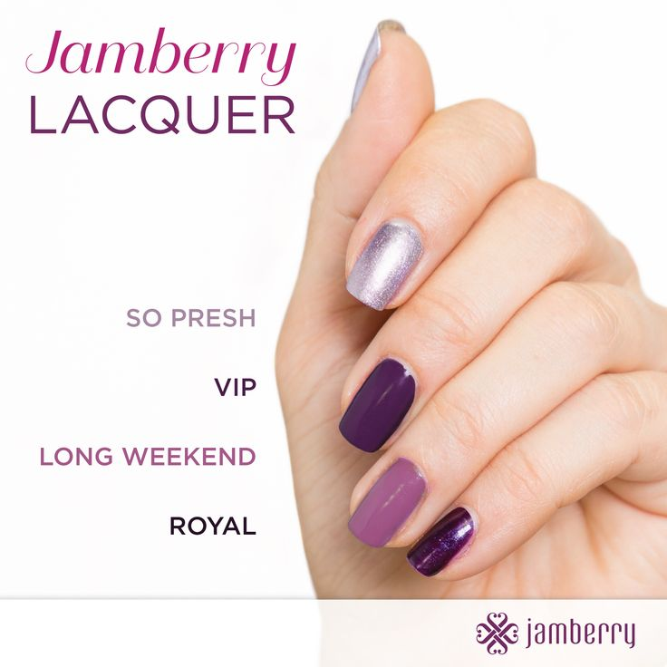 Jamberry Professional Nail Lacquer provides rich, creamy color in the season's chicest shades. Our 5 FREE formulas go on smoothly for great overall coverage and optimal wearability when paired with a Jamberry Base Coat and Top Coat. Emily Nelson-Jamberry Independent Consultant