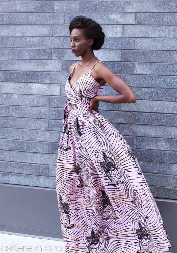 LA jupe Maxi LEILA en rose ~ African fashion, Ankara, kitenge, Kente, African prints, Braids, Asoebi, Gele, Nigerian wedding, Ghanaian fashion, African wedding ~DKK