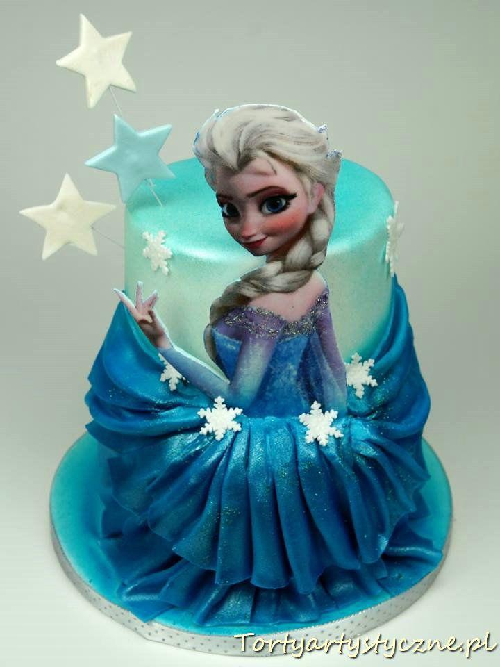 Elsa torty dla dzieci Poznań