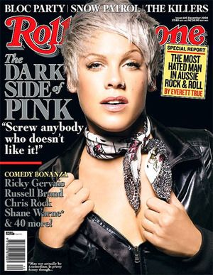 P.I.N.K. | Music Music Music | Pinterest Rolling Stone Magazine