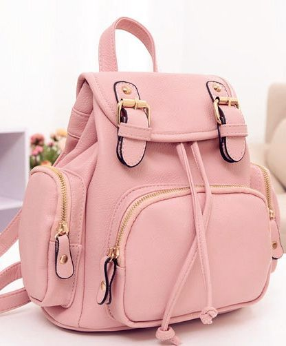 Lovely Nice Pink Backpack