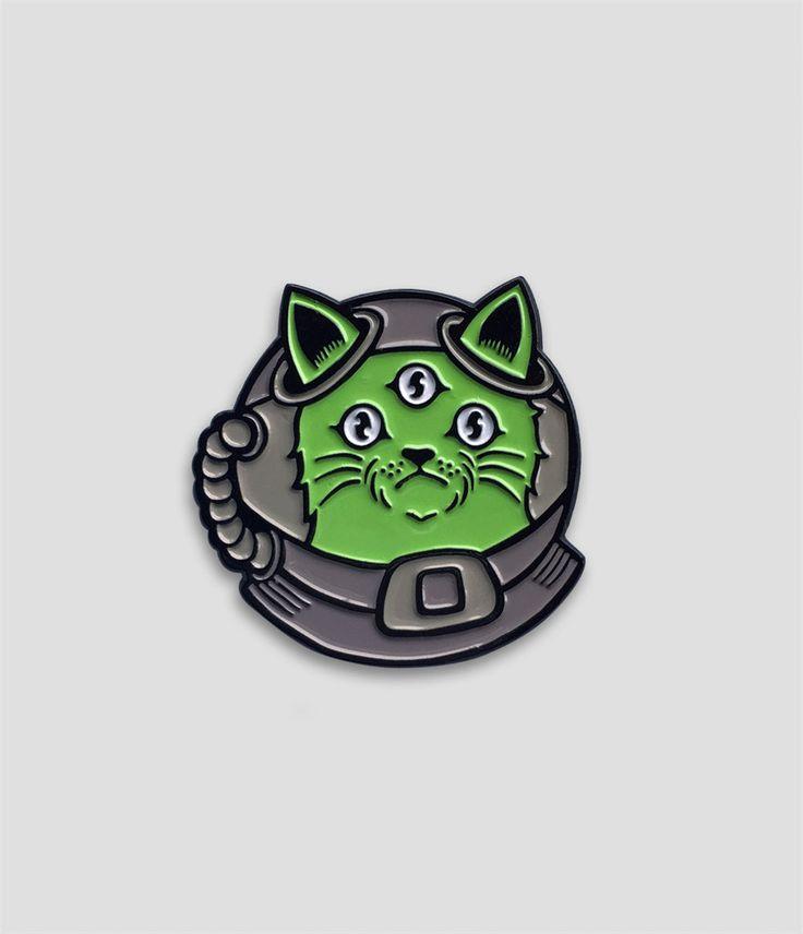 NFS - Alien Cat Pin