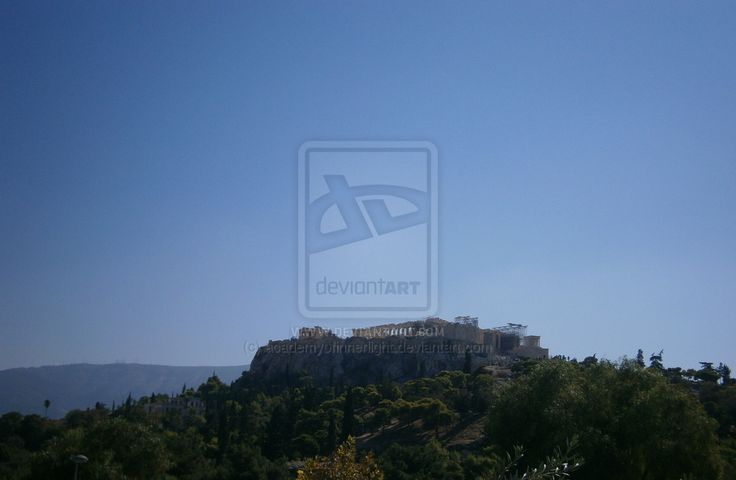 Acropolis of Athens -Greece by academyofinnerlight on deviantART