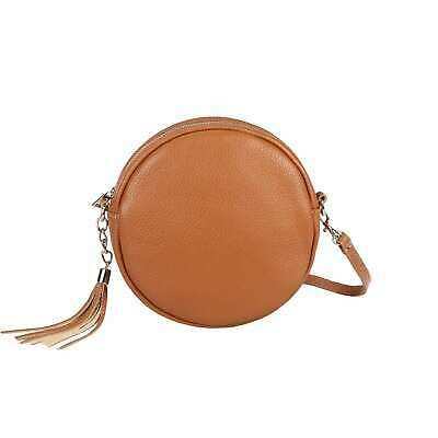 Italian Women's Leather Bag Crossbody round Shoulder Bag Crossover: £39.60End Date: 11-Feb 18:10Buy It Now for only:… #tasche #backpack #bag