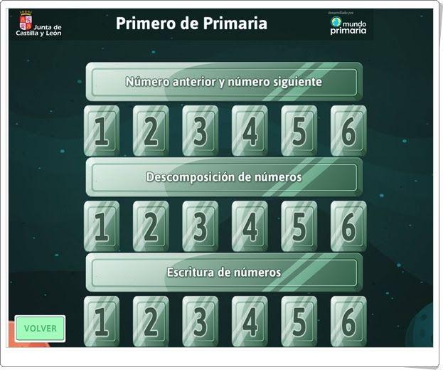"""""""Matespacial 1"""" (Juegos de Matemáticas de Verano de 1º de Primaria)"""