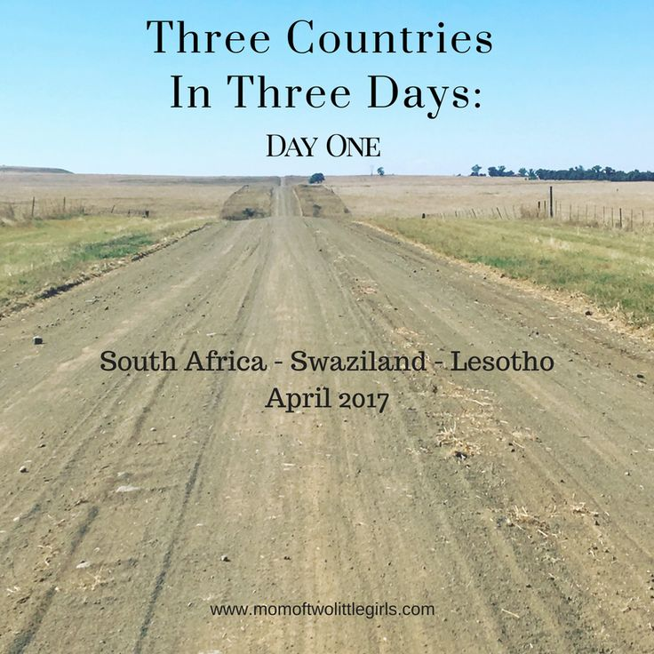 Biking Trip, 3 countries in 3 days. South Africa, Swaziland, Lesotho.