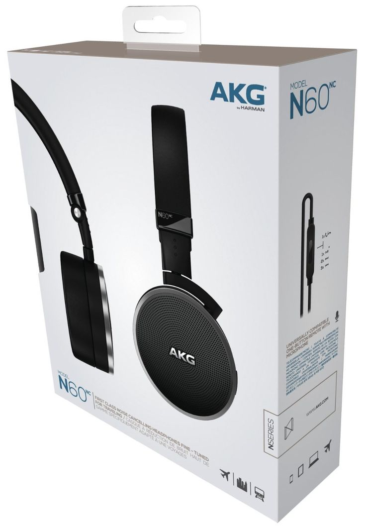 AKG N60nc Noise Canceling Headphones