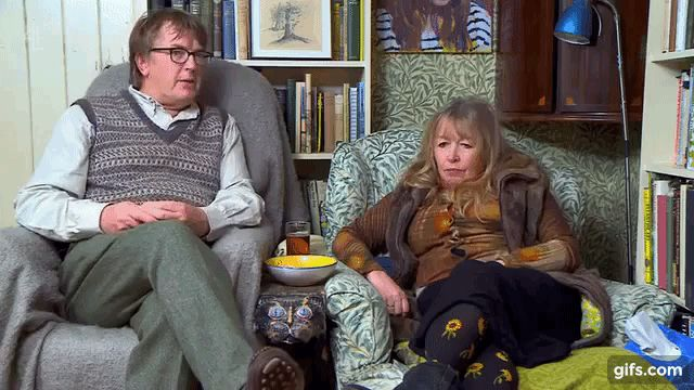 Who are Gogglebox's eccentric couple Giles and Mary? Here's everything you need to know!