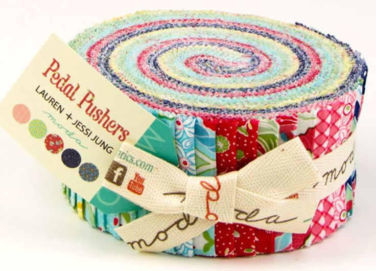 Pedal Pushers Jelly Roll quilt fabric strips