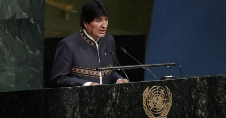 "By ditching global agreement on climate, Evo Morales says United States denying ""future to upcoming generations"""