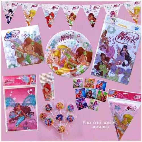 Winx Club Party supplies on Amazon