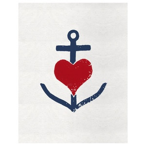 Anchor Print: Anchors Prints, Tattoo Ideas, Prints Posters, Sweet Things, Art Tattoo, Posters Prints, Anchors Heart, All Anchors, Heartbreak Prints