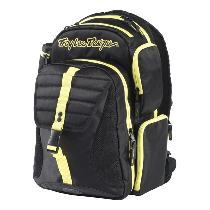 Troy Lee Ignition Mtb Backpack - Yellow Black - 2013 Troy Lee Gear Bags - 2013 Troy Lee Motocross Kits - 2013 Motocross Gear