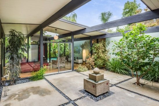 Eichler Atrium, designed by Jones and Emmons