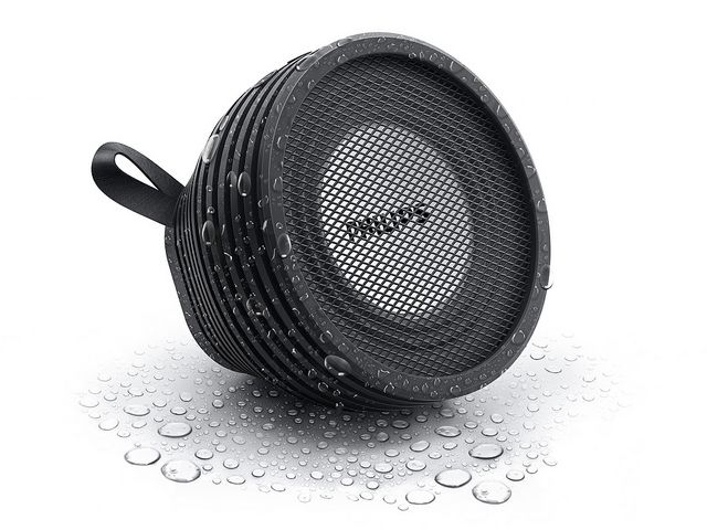 Philips splash proof wireless portable speaker SB2000B | Flickr - Photo Sharing!