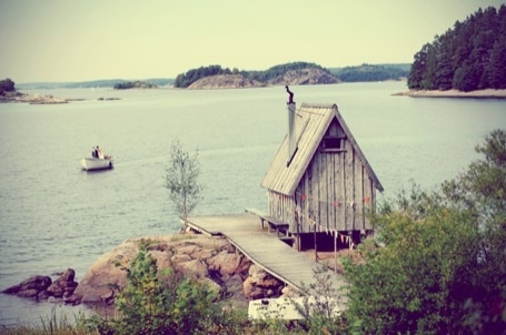 For the day that I get a nordic summerhouse for fishing, BBQing, sauna-ing and all the rest