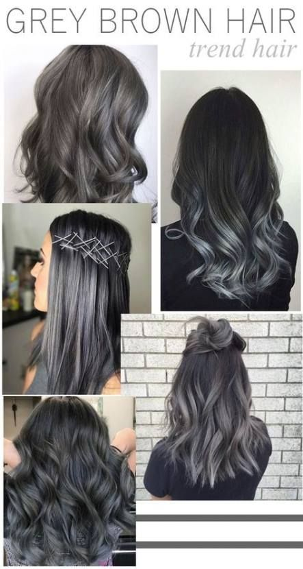 Super hair brown grey makeup ideas 65 ideas (With images ...