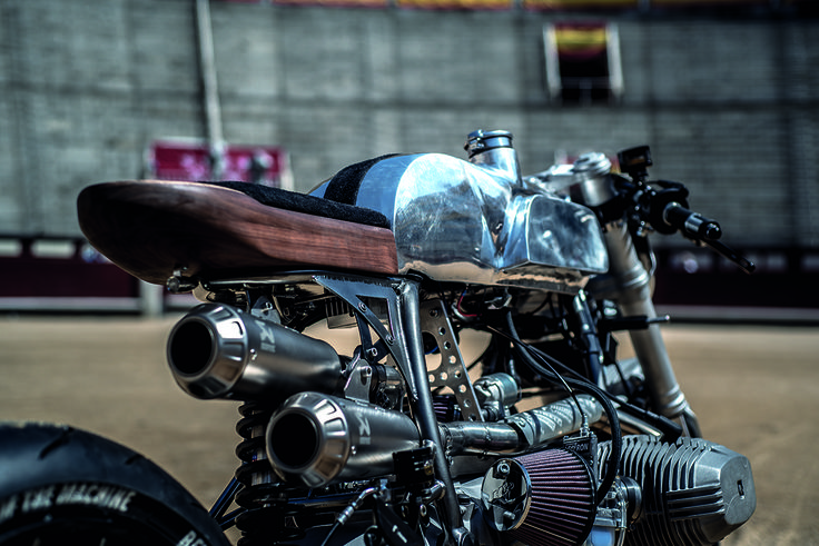 Against the Clock - XTR Pepo BMW R100RS ~ Return of the Cafe Racers