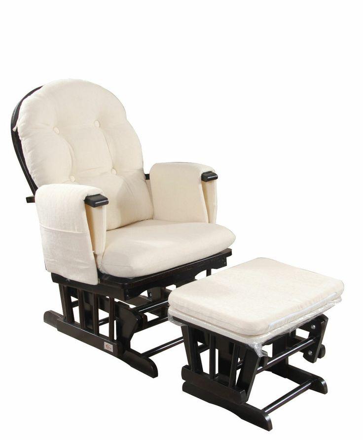 Baby Glider Rocking Breast Feeding Chair w/ Ottoman