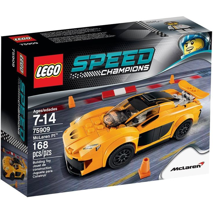 """LEGO® Speed Champions - 75909: McLaren P1"" (2015) by THE LEGO GROUP 