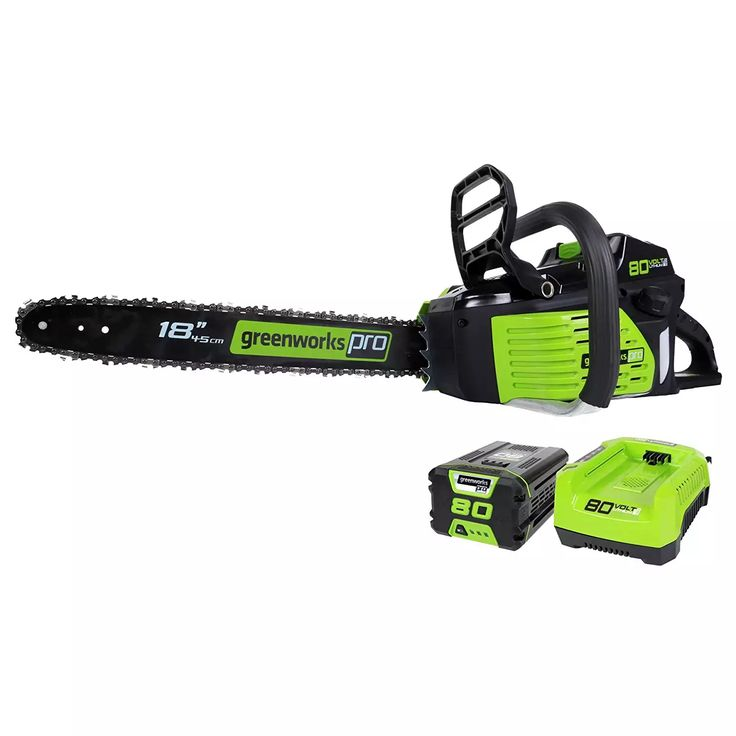 Greenworks Pro 18in 80V Cordless Chainsaw with Battery & Charger -$181 #LavaHot http://www.lavahotdeals.com/us/cheap/greenworks-pro-18in-80v-cordless-chainsaw-battery-charger/217724?utm_source=pinterest&utm_medium=rss&utm_campaign=at_lavahotdealsus