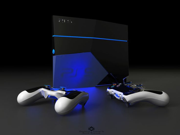 Playstation 5 Amazing Concept by David Hansson