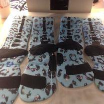 "Products · Nike Elite Socks ""Blue Raindrops"" · Sock Insanity's Store Admin"