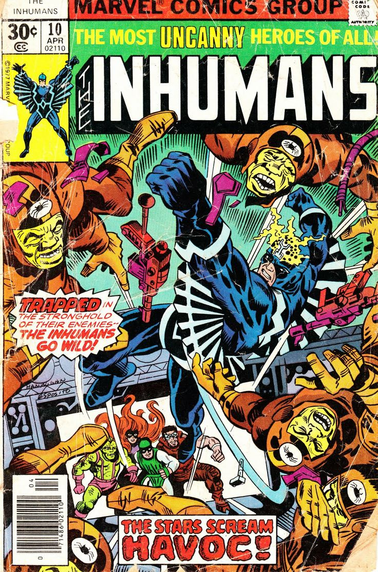 32 Best INHUMANS COVERS Images On Pinterest