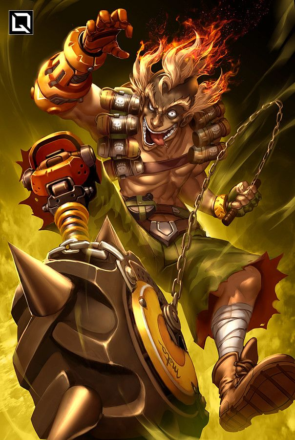 #overwatch #junkrat                                                                                                                                                     Plus