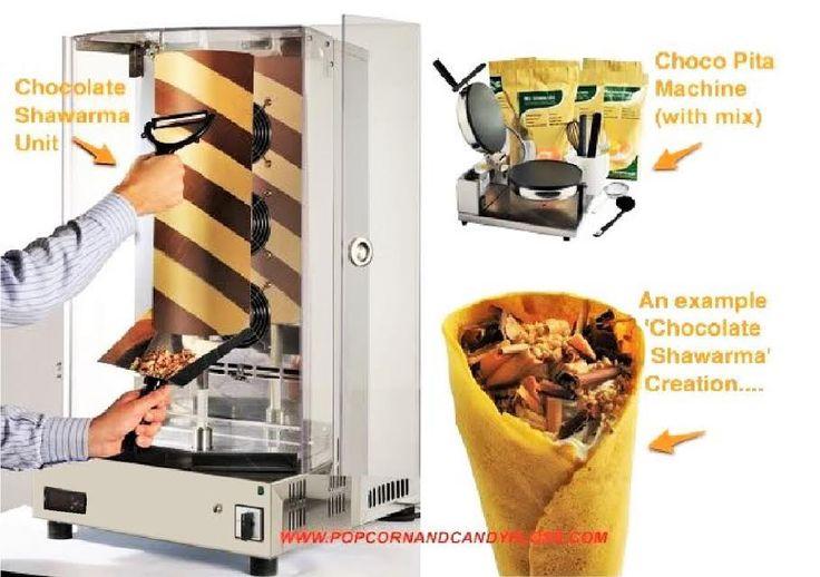 Chocolate Shawarma - Truly Unique – A1 Equipment Ltd