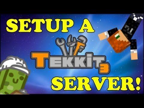 TUTORIAL - HOW TO MAKE A MINECRAFT TEKKIT SERVER!! MADE EASY!! - http://dancedancenow.com/minecraft-lan-server/tutorial-how-to-make-a-minecraft-tekkit-server-made-easy/