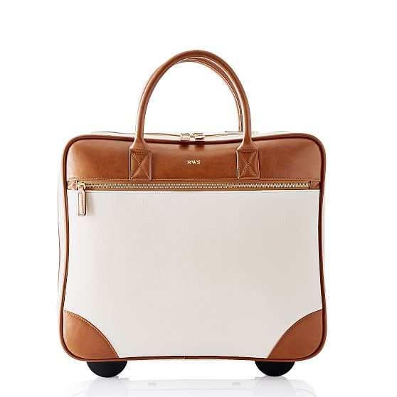 Concourse Rolling Briefcase | Mark and Graham