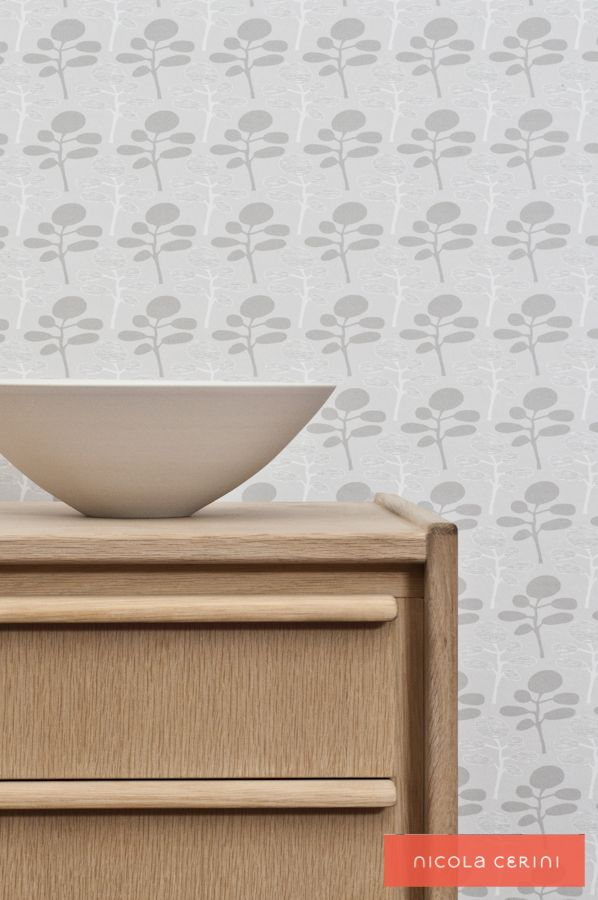 Inumaki Natural Wallpaper, Tony Parker buffet, Cone11 ceramic bowl www.nicolacerini.com