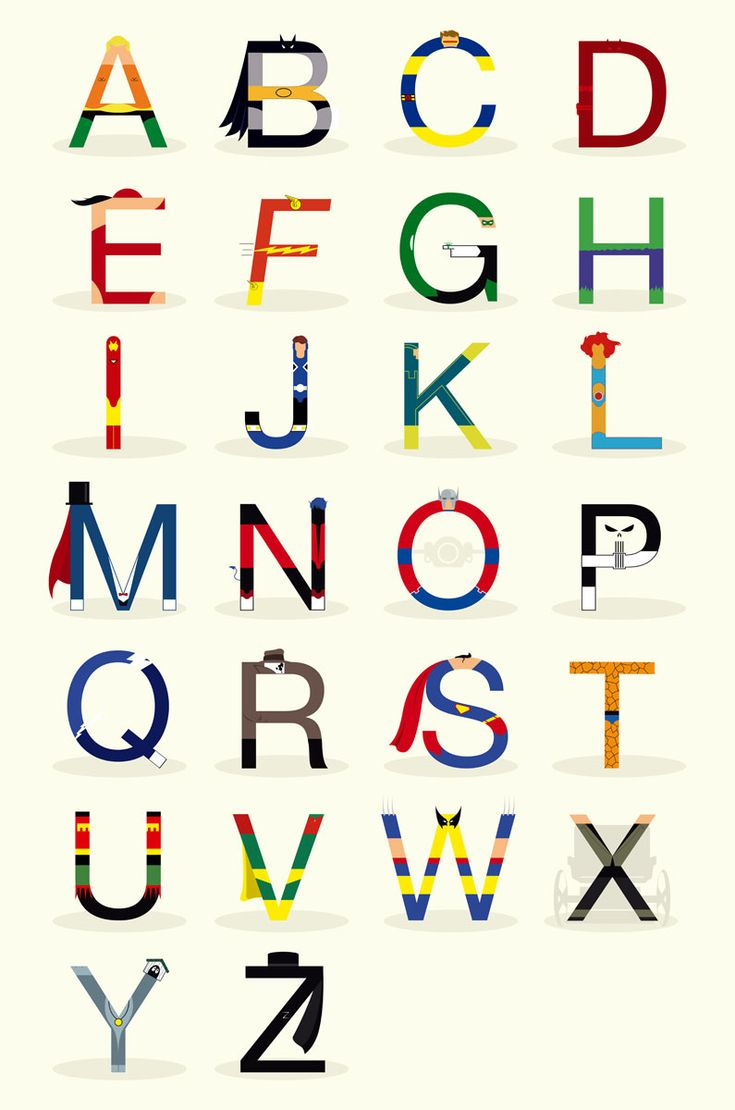 Alphabet alfabet a z armenian beauty heritage armenian tattoos - Super Hero Alphabet Umm If We End Up Going For A Superhero Themed Boy S Room When We Have Kids This Will Definitely Feature Love It