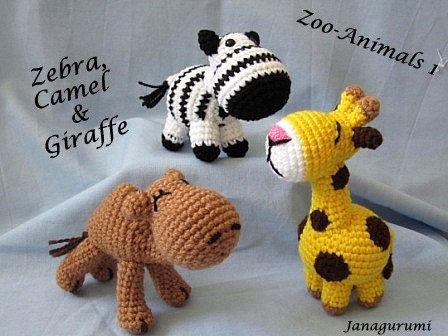 Patrón amigurumi Zoo animales 1 PDF