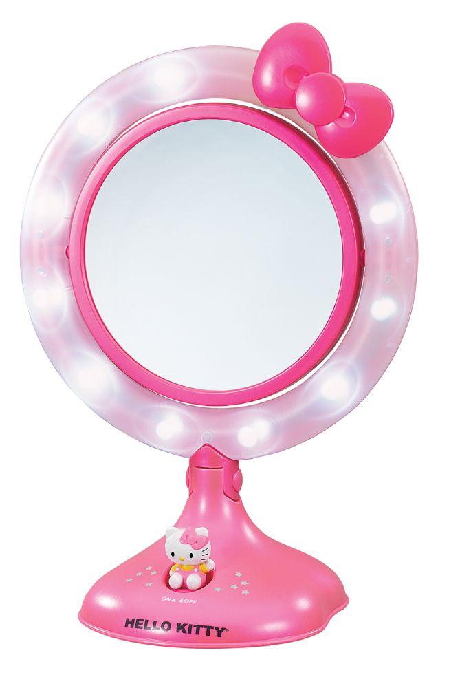 Hello Kitty Mirror.. U GOTTA BE KIDDING ME. I want.