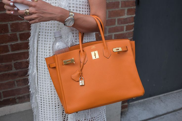 hermes wallet replica - The Best Bags of New York Fashion Week Spring 2015 Street Style ...
