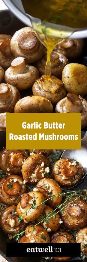 These roasted mushrooms in garlic and thyme butter sauce are an essential side dish to have in your recipe repertoire, especially when the Holidays season is coming. Roasting mushrooms caramelizes …