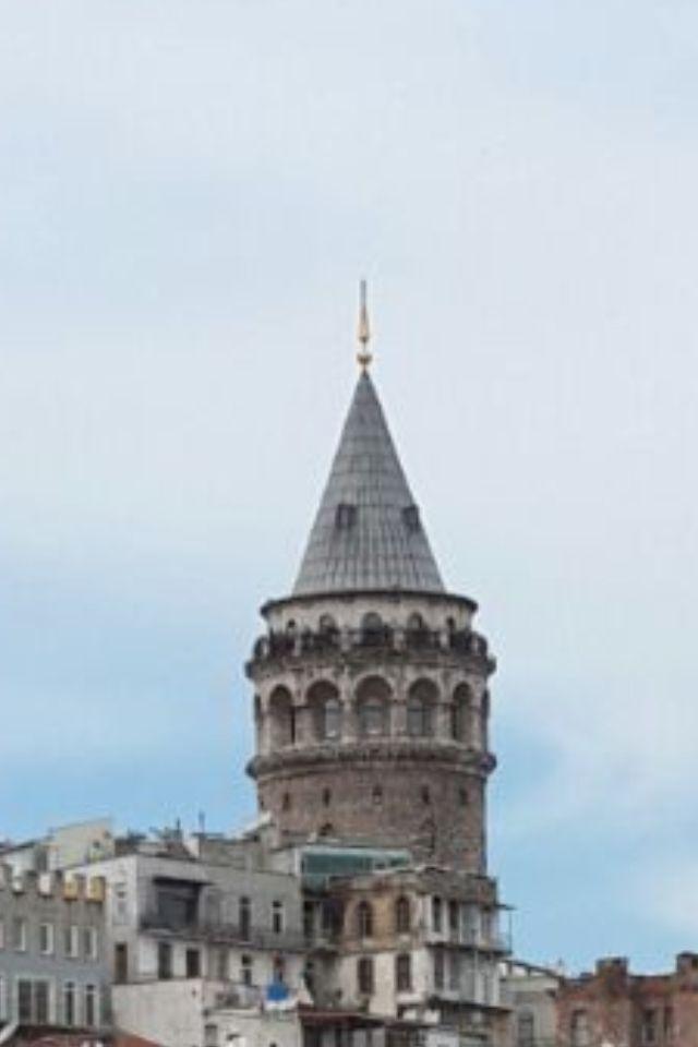 Galata Tower,Istanbul,Turkey