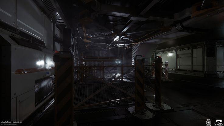 ArtStation - Star Citizen - Port Olisar Lighting, Ashley McKenzie