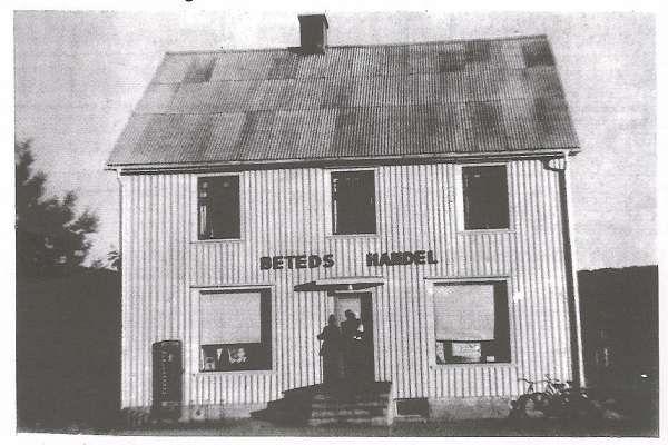 Bilder från förr - Koppom Beted Handel