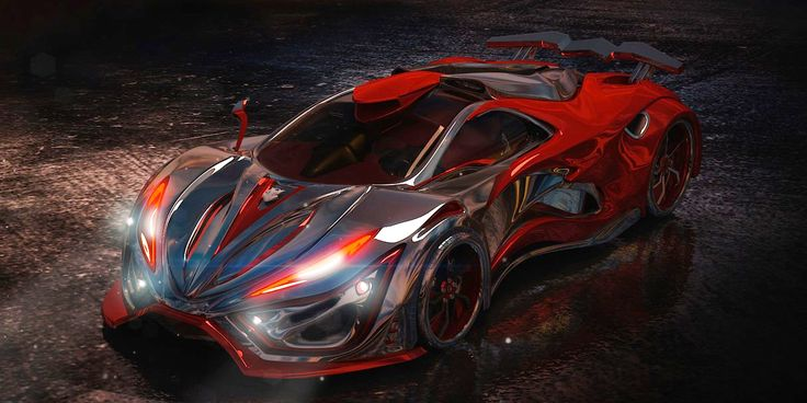 The Inferno Is a 1400 Horsepower Supercar Concept With a 'Metal Foam' Body Is this the latest piece of supercar vaporware?