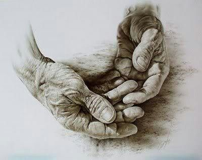 These remind me of my father's hands - Albrecht Durer -Hands